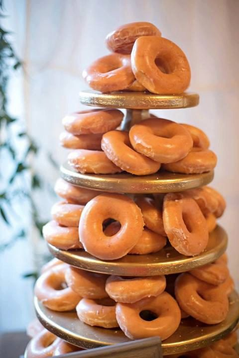 Donut Cupcake or Mini Dessert Stand 5 tiered by thefunkyshack