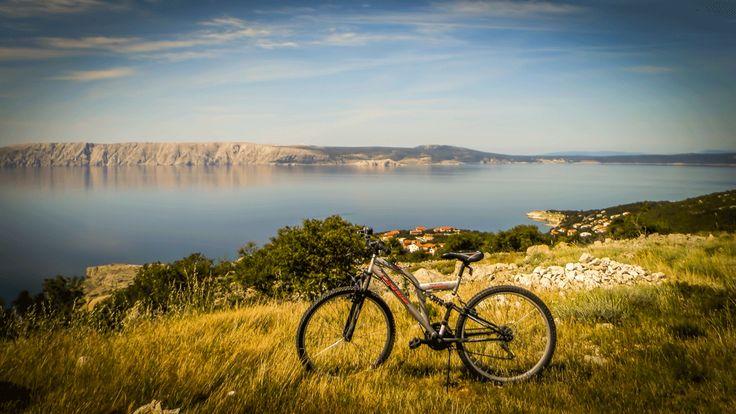 Beautiful landscape at Gradina, Povile near Novi Vinodolski. alienbikez.com