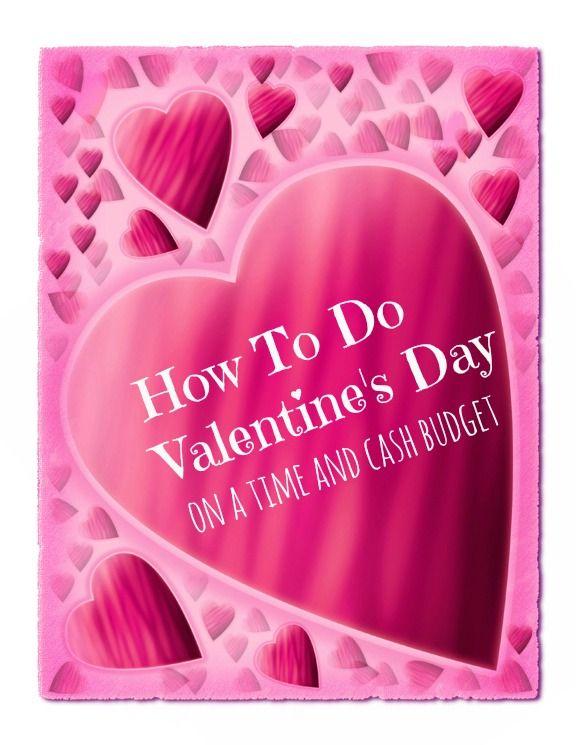 valentine day on a budget
