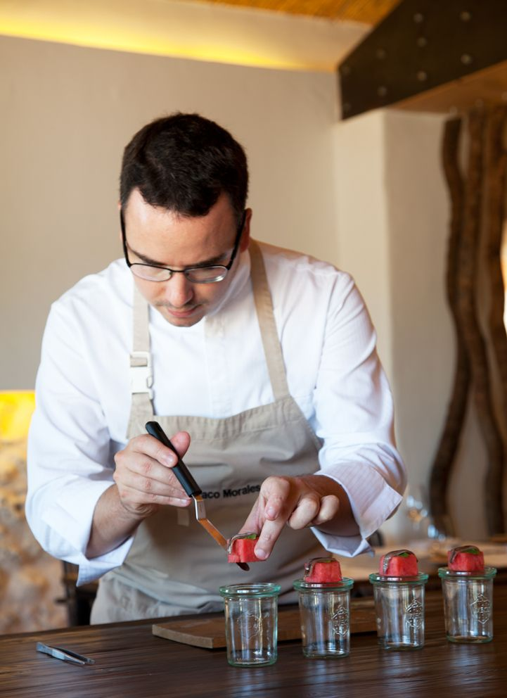 paco morales michelin star awarded chef torralbenc restaurant menorca escape pinterest restaurante estrellas y michelin star