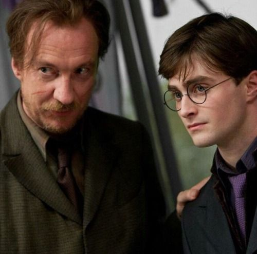 Harry and Lupin