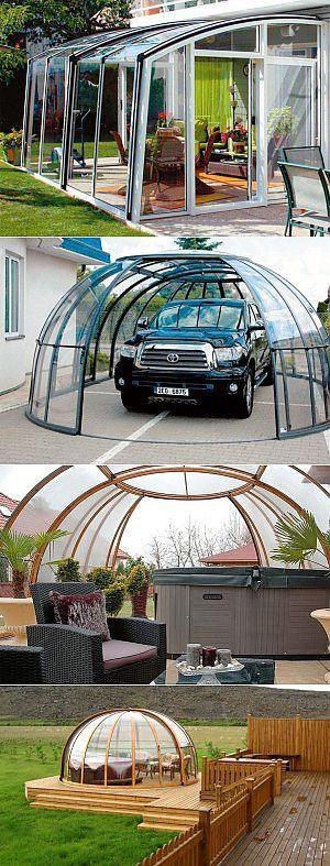 Мобильная крыша: дешево и очень комфортно