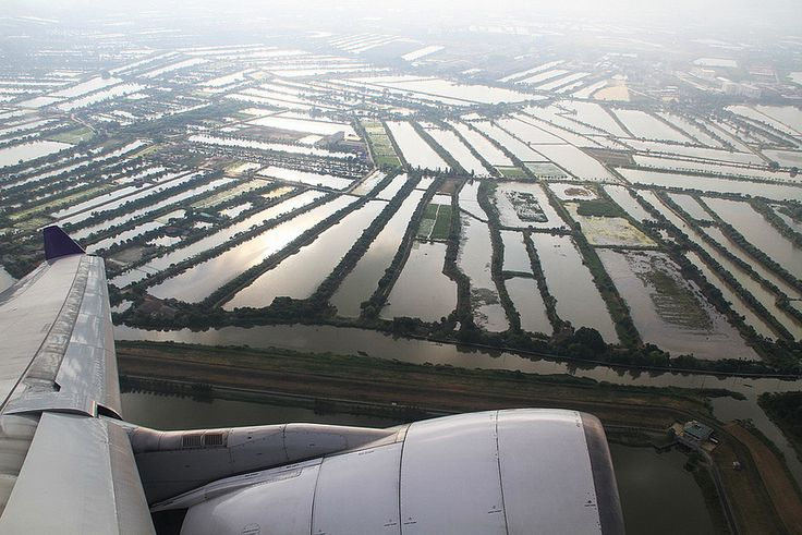 departing Bangkok, Thailand