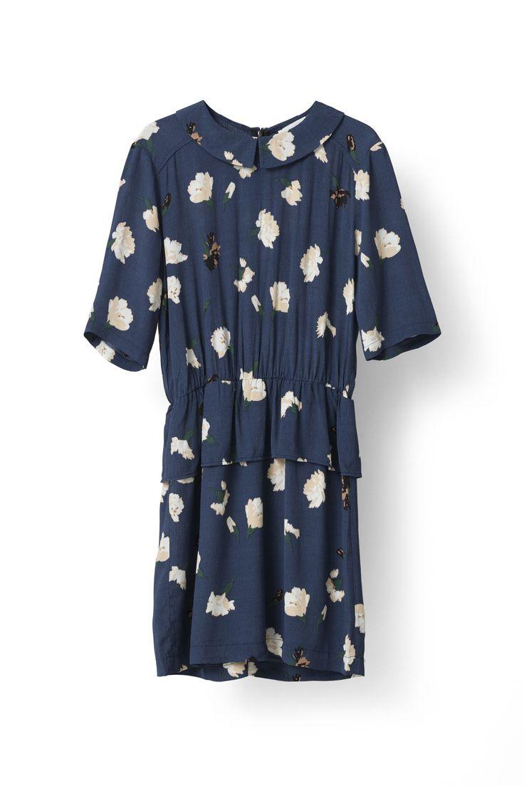 Jones Crepe Dress - Ganni
