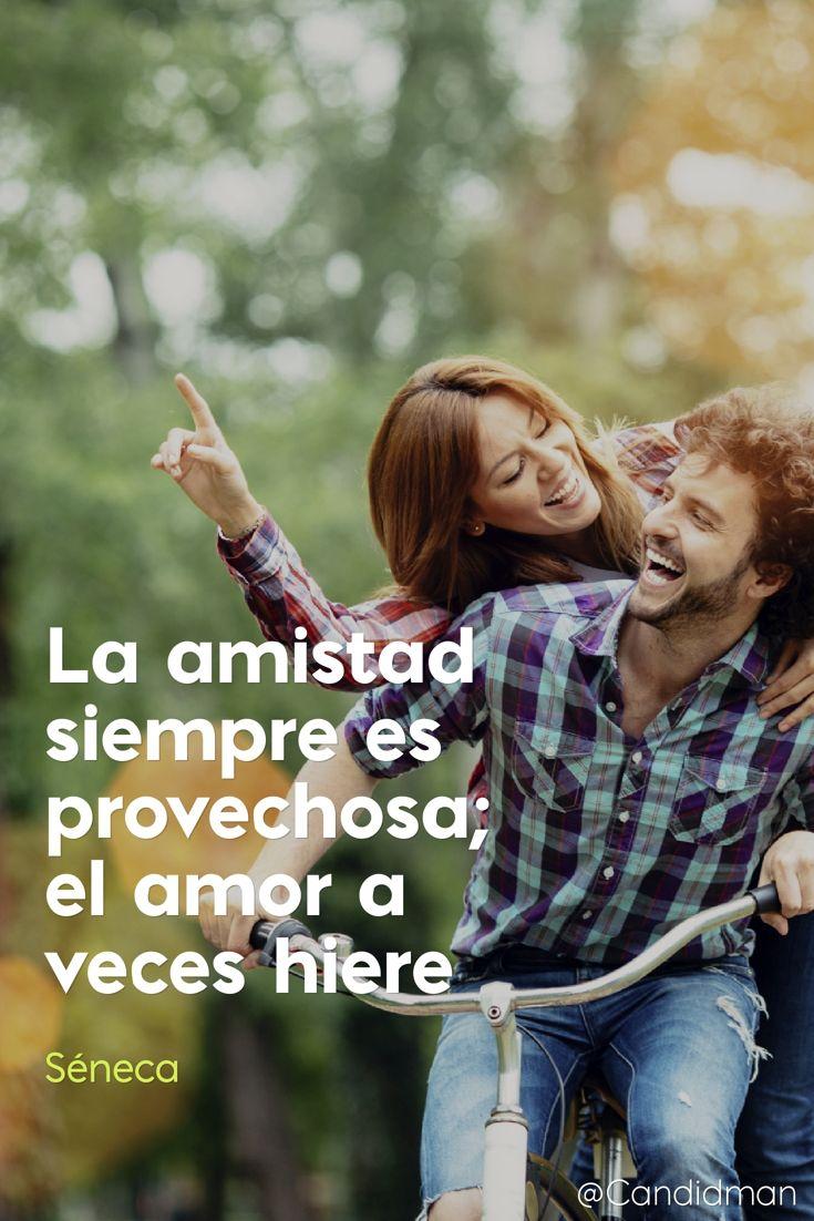 """""""La #Amistad siempre es provechosa; el #Amor a veces hiere"""". #Seneca #FrasesCelebres #LucioAnneoSeneca @candidman"""
