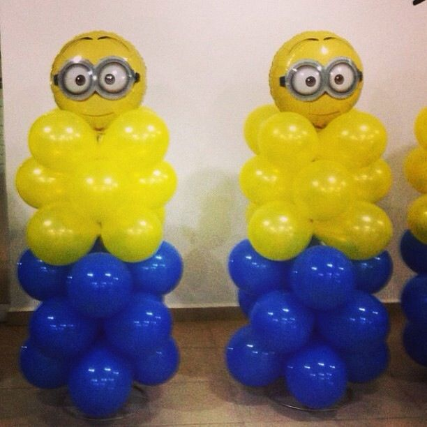 Minion Balloon decoration