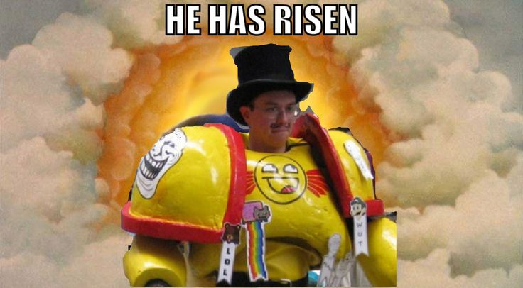 I saw him and I knew he was our savior