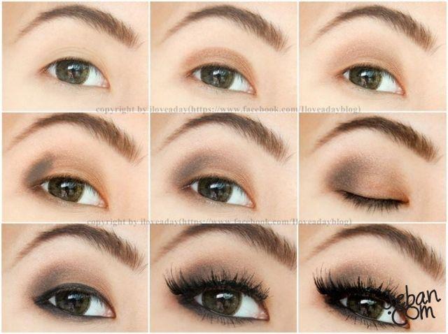 Matte brown asian eye makeup By iloveaday