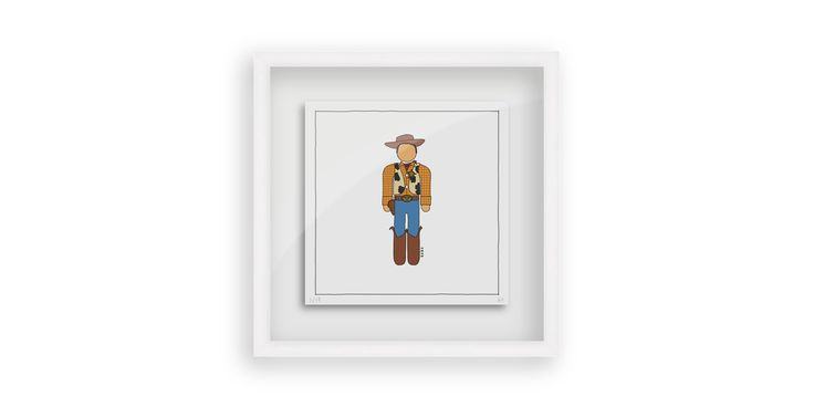 Toy Story - Woody #toystory #art #illustration #persona