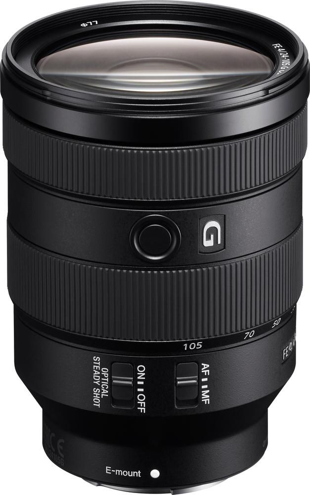 Sony - FE 24-105mm F4 G OSS Standard Zoom Lens for Sony E-mount Cameras
