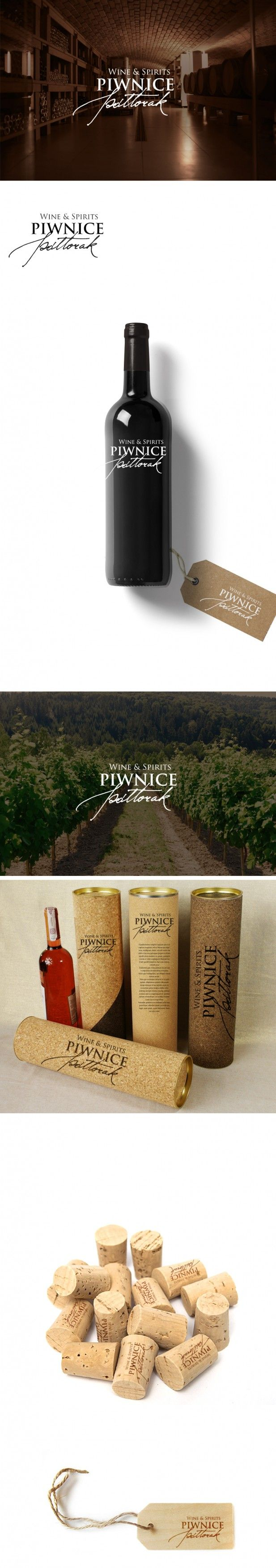Praca nr 321638 w konkursie Logo dla winnicy Piwnice Półtorak Wine &Spirits. | Corton.pl