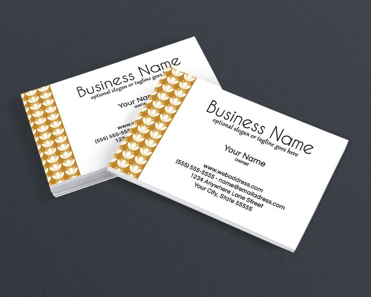 75 best business card design templates images on pinterest gold three business card design cheaphphosting Image collections