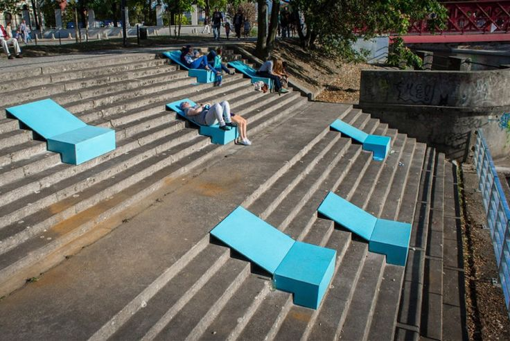Street Furniture Gets A New Lease On Life As Art in Poland