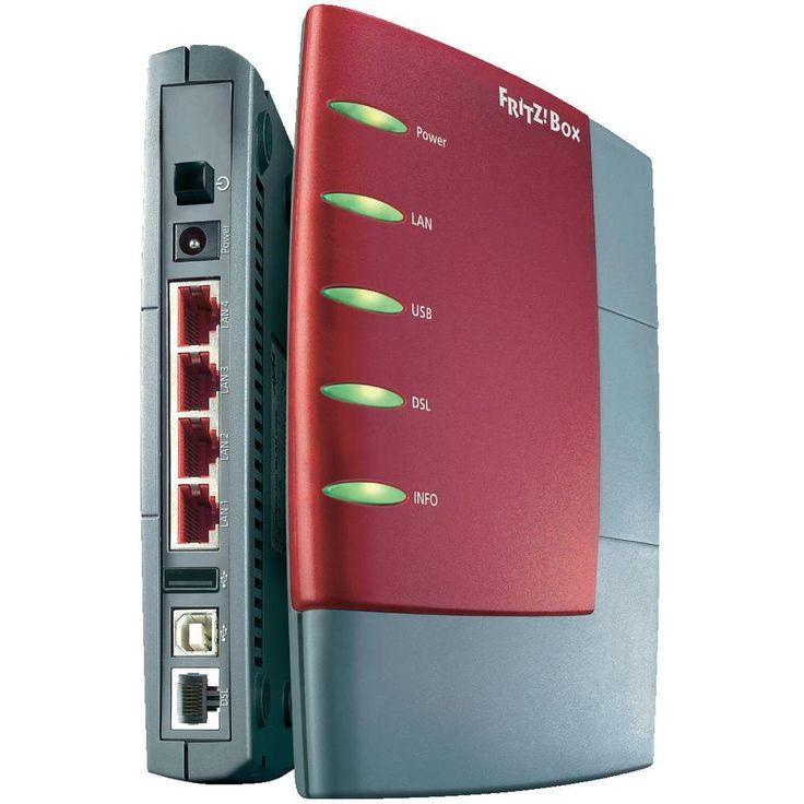 LAN-Router mit Modem AVM FRITZ!Box 2170 Integriertes Modem: ADSL, ADSL2+ 100 MBit/s