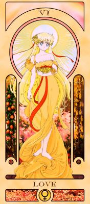 Sailor Moon Tarot Cards by Sillabub429 (Senshi edition)