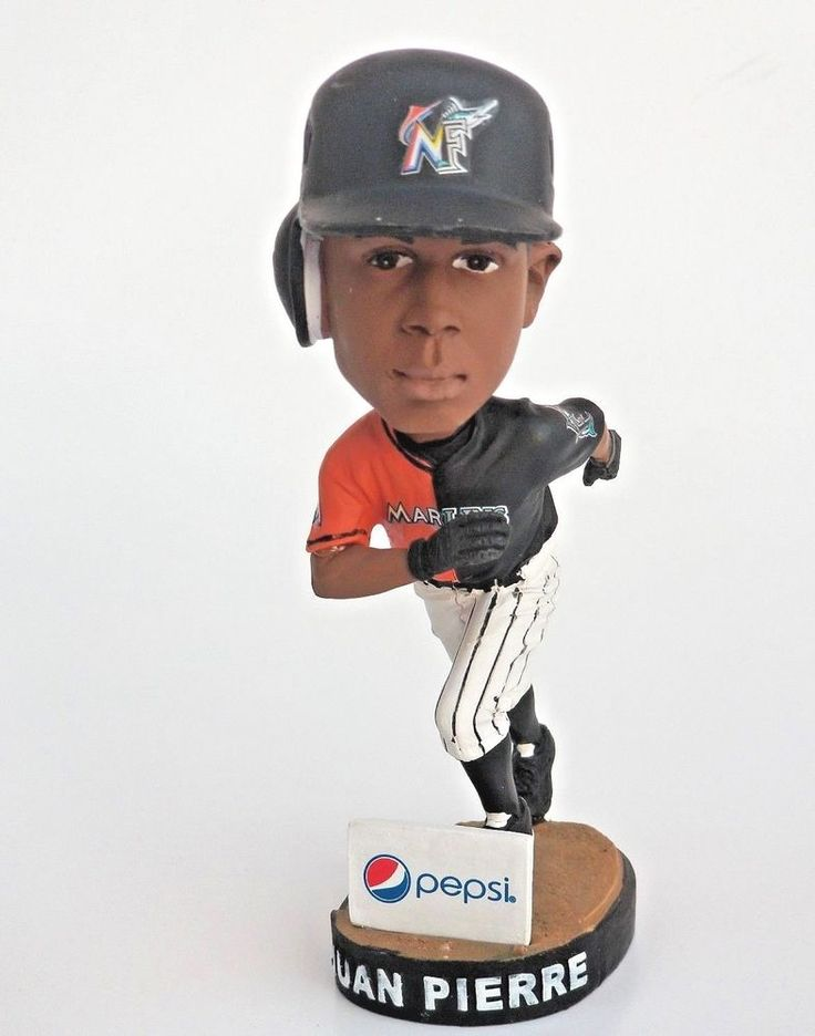 Juan Pierre Bobblehead Miami Marlins Baseball Figurine Fan  #MiamiMarlins