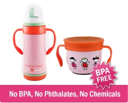$22 for a BPA-Free Insulated Sippy Cup and Stainless Steel Snack Cup http://www.kuklamoo.com/offers/view/ecovessel