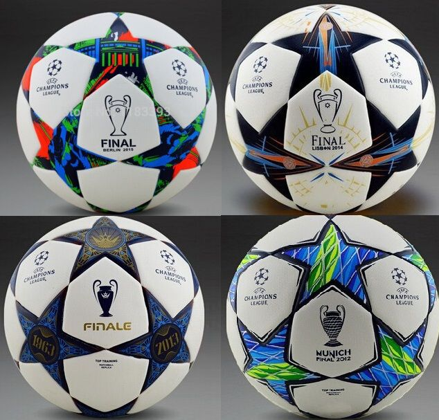 Hot Sale 2015-2016 season Champion league ball Final Berlin soccer ball football ball TPU size 5 for match and training