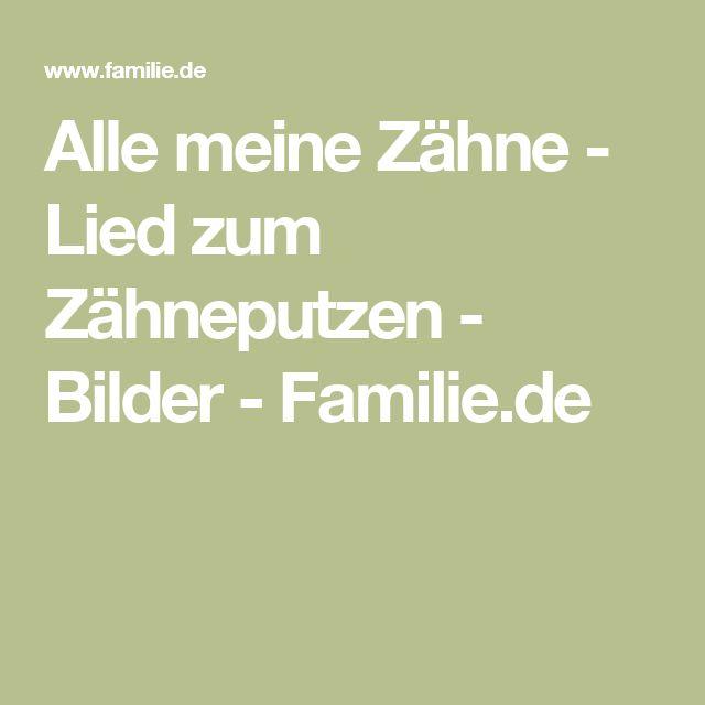 Alle meine Zähne - Lied zum Zähneputzen - Bilder - Familie.de