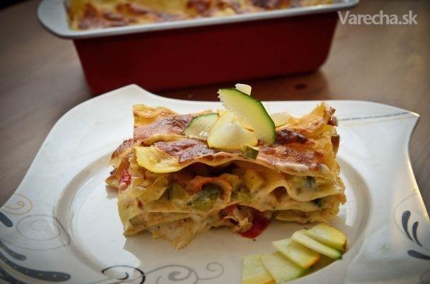 Zeleninové lasagne s cuketou (fotorecept)