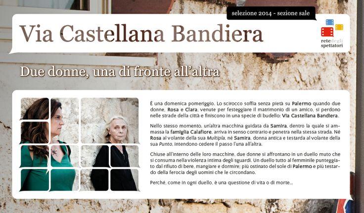 """Il duello muto di """"Via Castellana Bandiera"""", un film di Emma Dante"""
