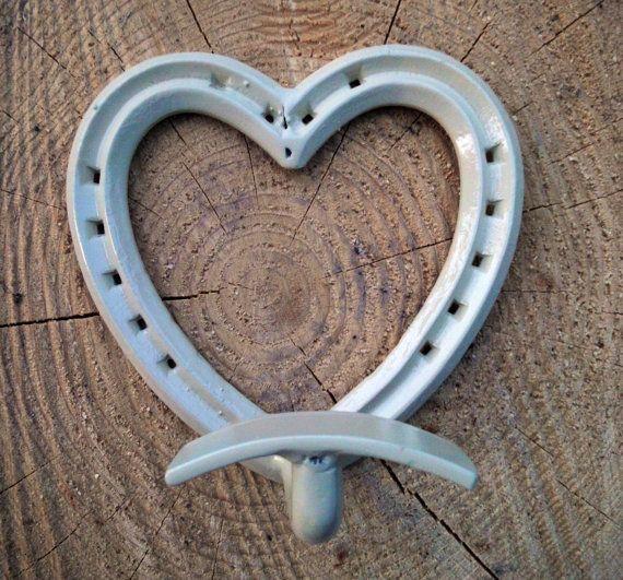 Gancio attaccapanni con ferri di cavallo a forma di RomantikPony