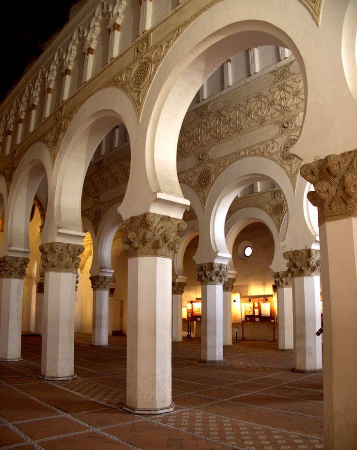 Sinagoga de Santa María La Blanca Toledo