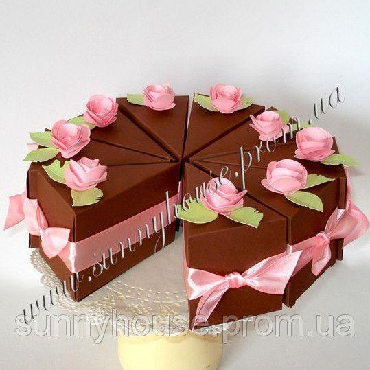 Дизайнерский бумажный торт ручной работы, цена 365 грн., купить в Одессе — Prom.ua (ID#37061590)