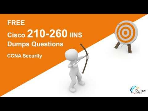 Passed 210 260 Iins Share Ccna Security 210 260 Dumps Questions