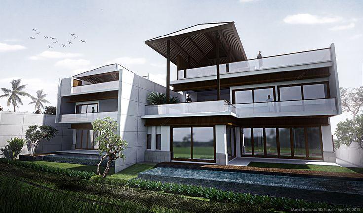 #architecture#villa#bali#rendering#art