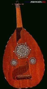 aoud - Instrument de musique marocaine