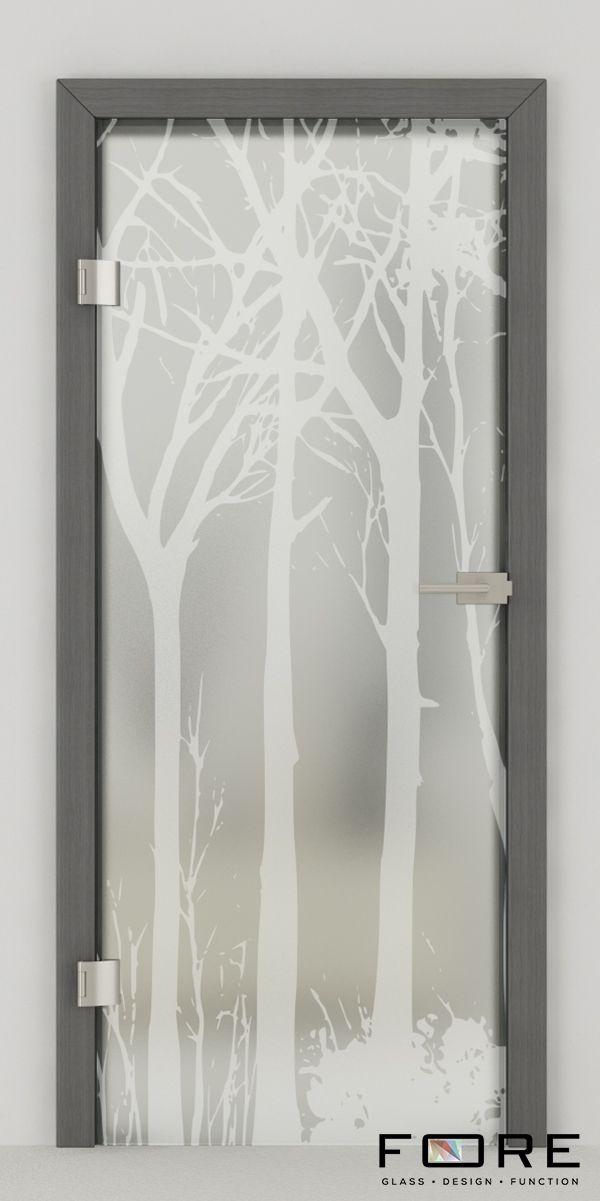 Drzwi szklane Tree 03, glass doors,www.fore-glass.com, #drzwi #drzwiszklane #drzwiwewnetrzne #szklane #glassdoor #glassdoors #interiordoor #glass #fore #foreglass #wnetrza #architektura