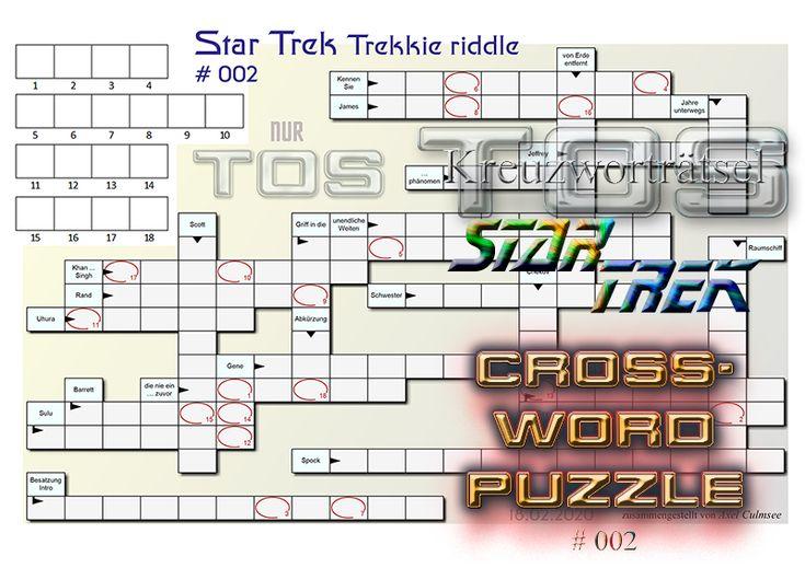 Nicht Eine Kreuzworträtsel