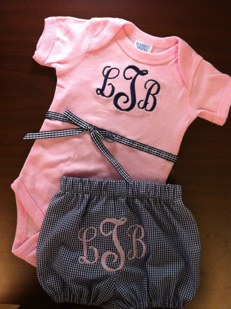 Best 25 Monogram Baby Girls Ideas On Pinterest Baby