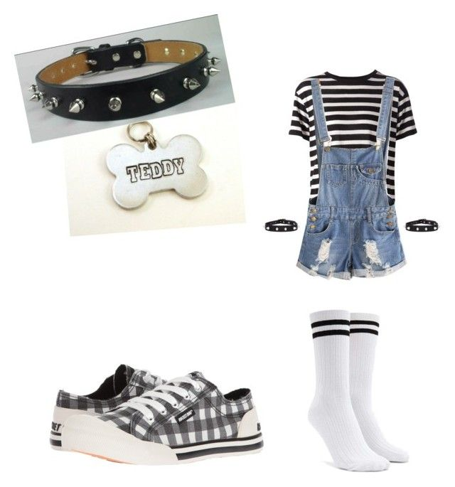 Teddy Bear by poojah0009 on Polyvore featuring polyvore R13 Forever 21 Rocket Dog fashion style clothing