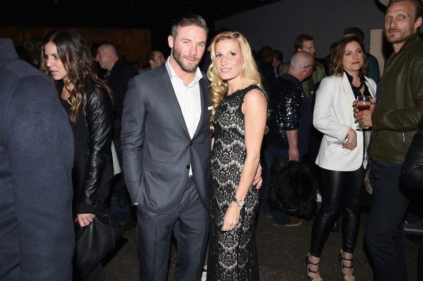 Julian Edelman Photos Photos - NFL football player Julian Edelman (L) and Ella Blum attend the Dockers x CFDA NYFWM Opening Party during New York Fashion Week Men's Fall/Winter 2016 at ArtBeam on February 1, 2016 in New York City. - Dockers x CFDA NYFWM Opening Party - New York Fashion Week Men's Fall/Winter 2016 - Opening Event