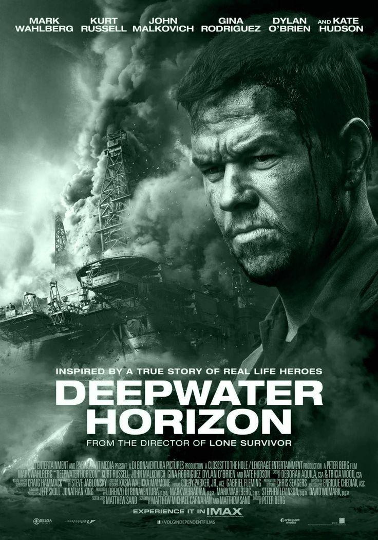 DEEPWATER HORIZON is een biografische rampenfilm uit 2016 onder regie van Peter Berg. De film is gebaseerd op het waargebeurde verhaal over de explosie op de Deepwater Horizon boorplatform en de gevolgen daarop van de olieramp in de Golf van Mexico 2010. De film ging op 13 september 2016 in première op het Internationaal filmfestival van Toronto. Met in de hoofdrollen Mark Wahlberg, Kurt Russell en John Malkovich.