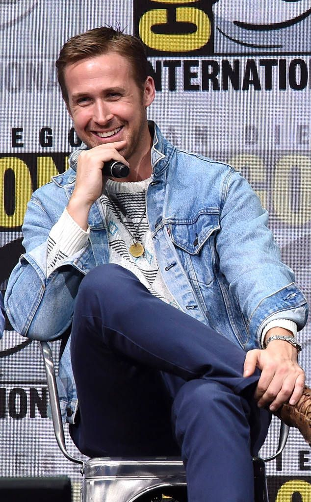 Ryan Gosling: Comic-Con 2017: Star Sightings