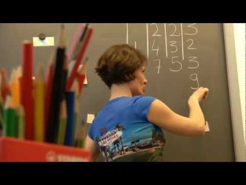 """This is an example of the """"Finnish Muuvit"""" for the maths lessons. It is easy to stop sitting!"""