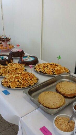 zelf gemaakt buffet voor babyborrel