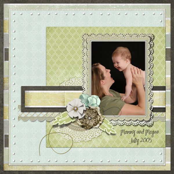 Layout by jennilynn10. Quite Becoming Value Collection created by Lauren Bavin