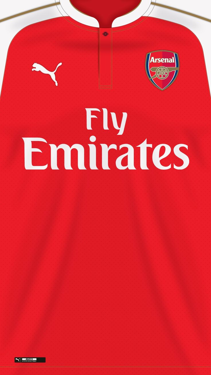 Arsenal wallpaper home kit 2015/2016