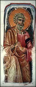 L'apôtre Pierre, kellion Ravdouhou, Dépendance de Pantokrator, Karyes, 12 c.