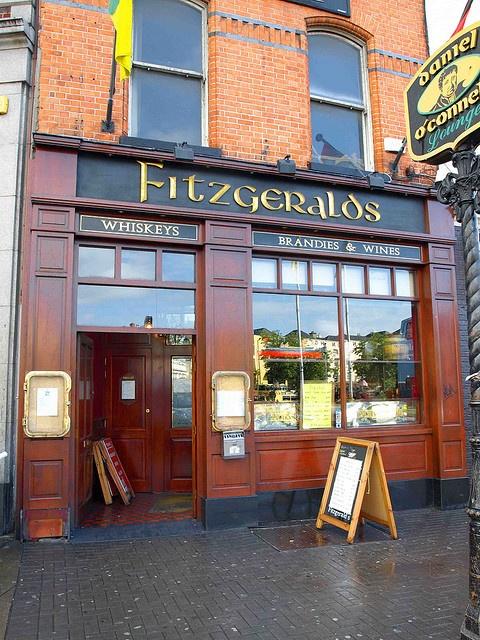 Fitzgeralds - our favorite pub in Dublin