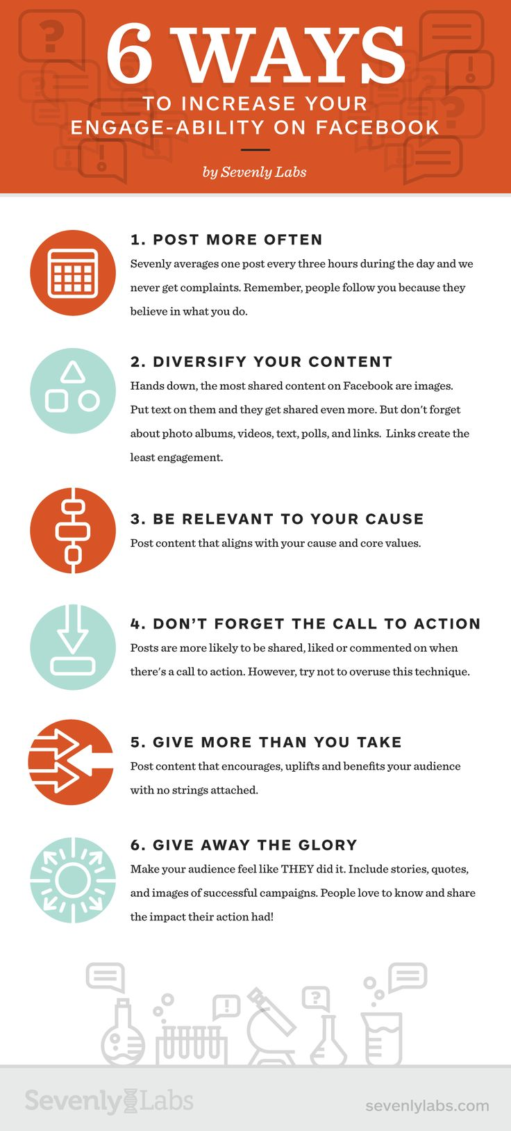 6 Ways To Increase Your Engage-Ability On #Facebook (INFOGRAPHIC)