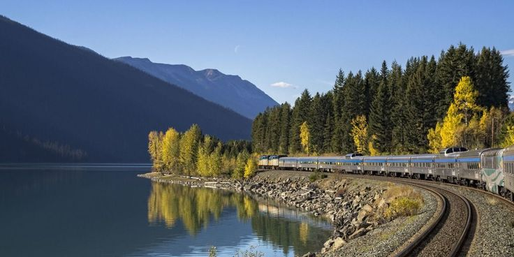 Beautiful train tour of Canada