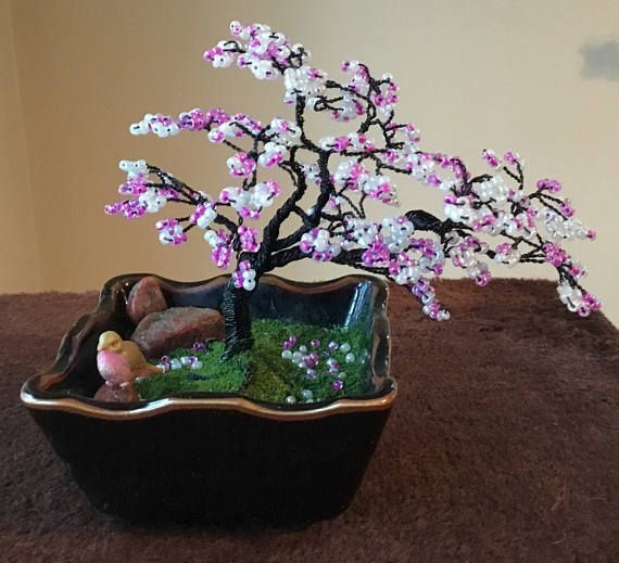 Wire Bonsai/ Potted Wire Bonsai/ Wire Bonsai Sculpture/ Bonsai/ Wire Tree Art/ Wire Tree Sculpture/ Metal Bonsai/ Metal Tree Sculpture/ Wire