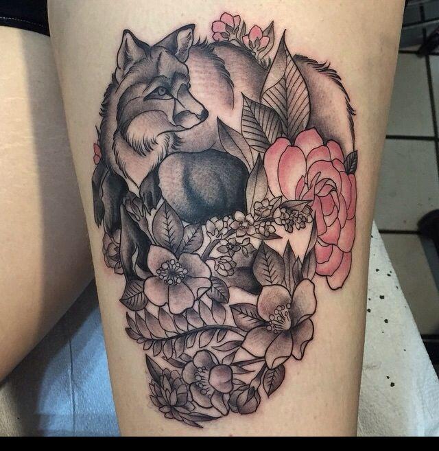 Amazing fox tattoo tattoos pinterest amazing tattoos for Higher ground tattoo