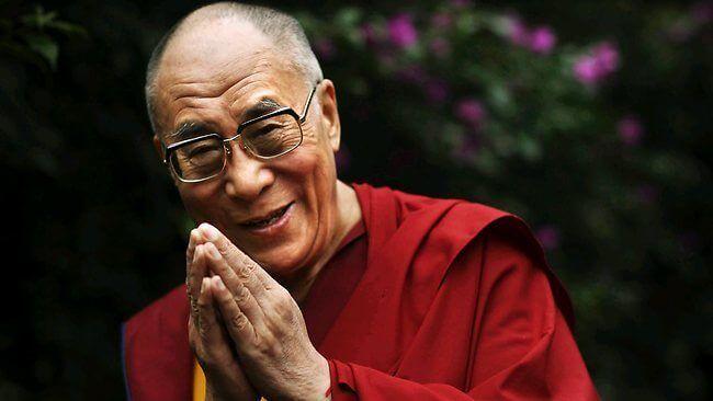 Der Dalai Lama stellt Energiediebe vor