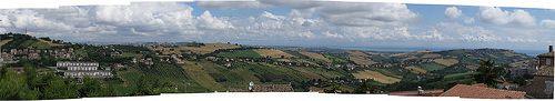 Fermo ,Marche, Italy- Panorama delle colline marchigiane - by Gianni Del Bufalo (CC BY-NC-SA 2.0)